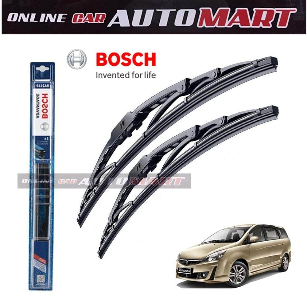 Proton Exora - Bosch Advantage Wiper Blade (Set) - Compatible only with U-Hook Type - 16 inch & 24 inch