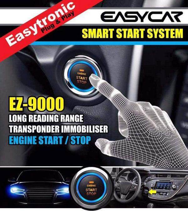 PROTON GEN2 Plug and Play Key-less Engine Push Start System with Immobilizer (EZ9000-P1B)