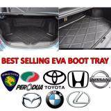 EVA Copolymer Car Boot Tray for PROTON PERODUA HONDA TOYOTA NISSAN MAZDA LEXUS BMW Luggage Cargo Trunk Tray