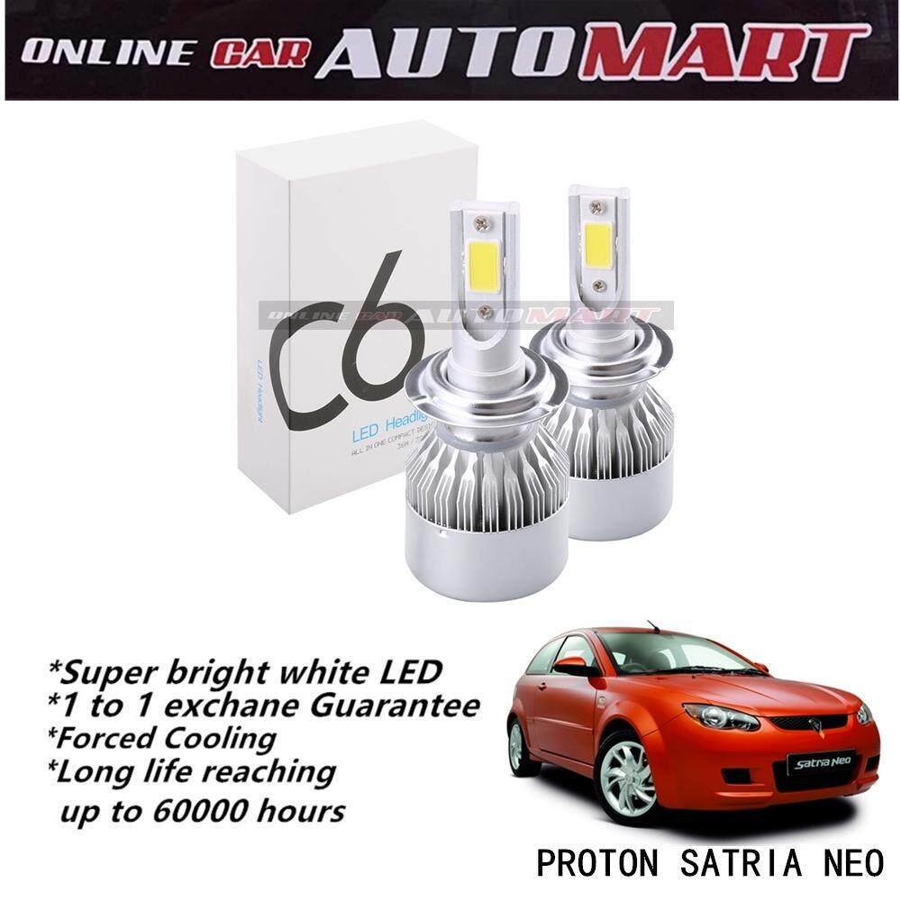 PROTON SATRIA NEO-C6 LED Light Car Headlight Auto Head light Lamp 6500k White Light
