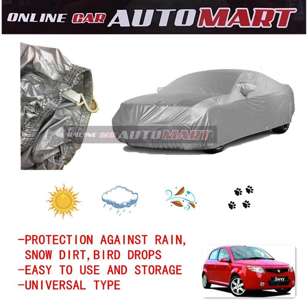 Proton Savvy - Yama High Quality Durable Car Covers Sunproof Dust-proof Water Resistant Protective Anti UV Scratch Sedan Cover
