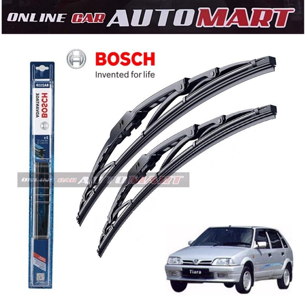 Proton Tiara - Bosch Advantage Wiper Blade (Set) - Compatible only with U-Hook Type - 20 inch