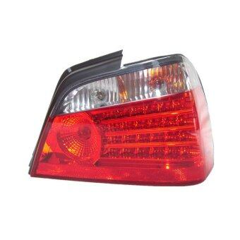 Harga Proton Waja Tail Lamp Crystal LED Smoke/Red - M5 Style