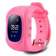 Q50 CHILDREN OLED DISPLAY GPS INTELLIGENT WATCH TELEPHONE (PINK), Pink (ENGLISH VERSION) Malaysia