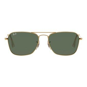 Ray-Ban Caravan Crystal Green Lenses RB3136 001 Arista Sunglasses[58]