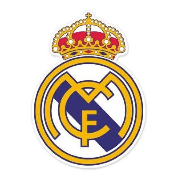 Real Madrid CF - Spain Football Soccer Futbol - Car Sticker - 6