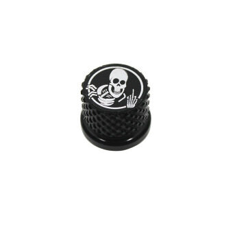 Harga Rebacker Skull Motorcycles Seat Quick Mount Bolt Screw Cap ForHarley 1996-2015 Sportster Softail Dyna Touring (Black)