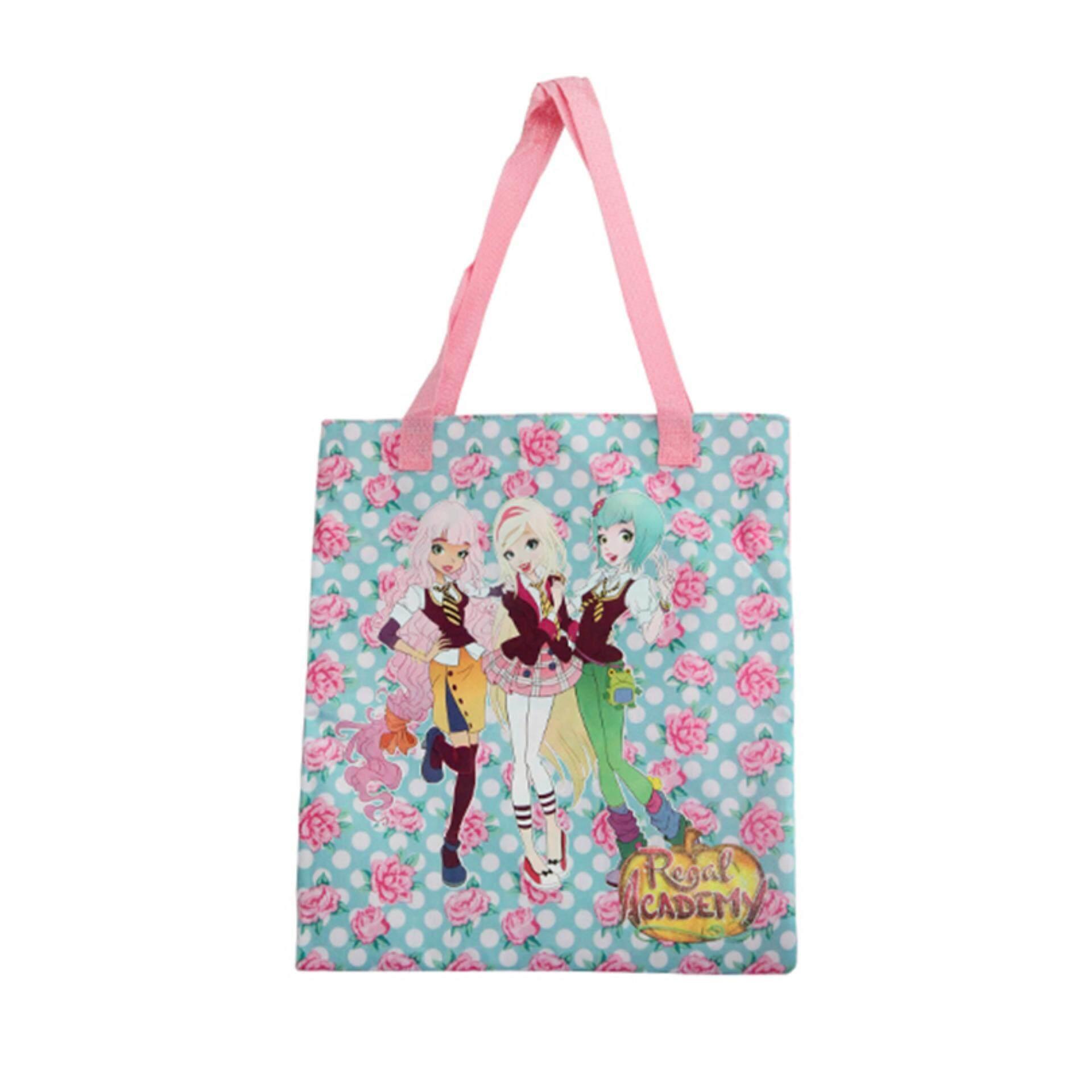 Regal Academy Tote Bag - Pink Colour