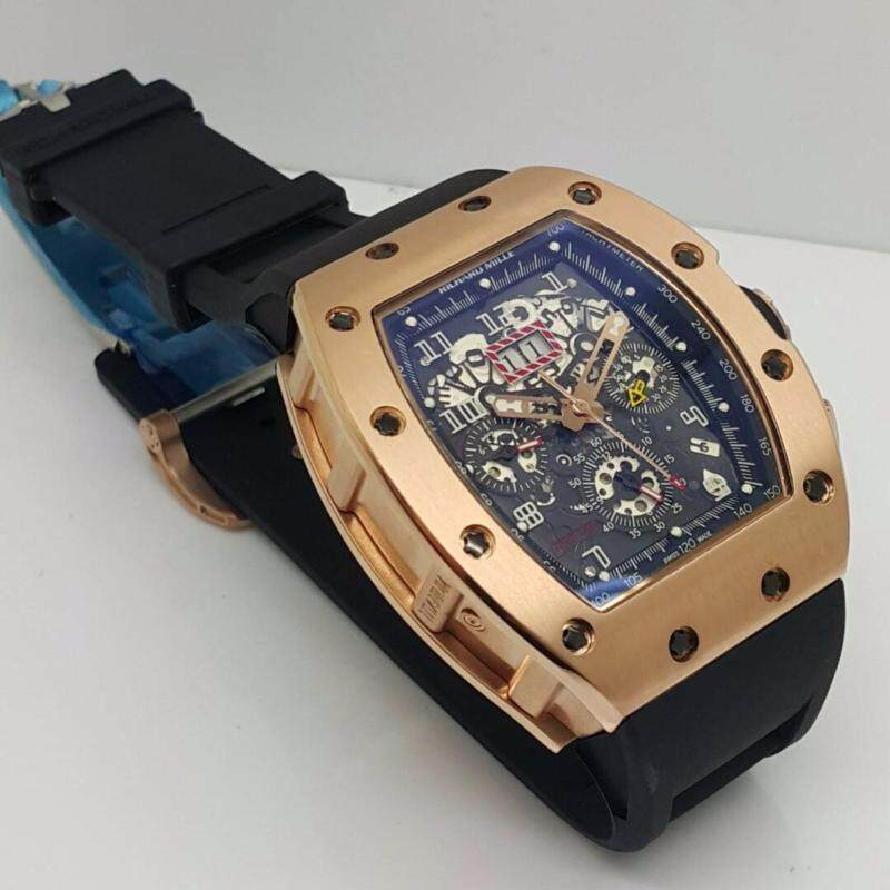Richard Mille Rose Gold Mens Watch Malaysia