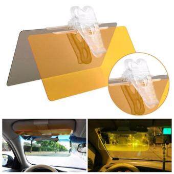 Rimtronics Quality Car Safety HD Vision Visor Day Night Visor Vision Anti Glare Anti Dazzle