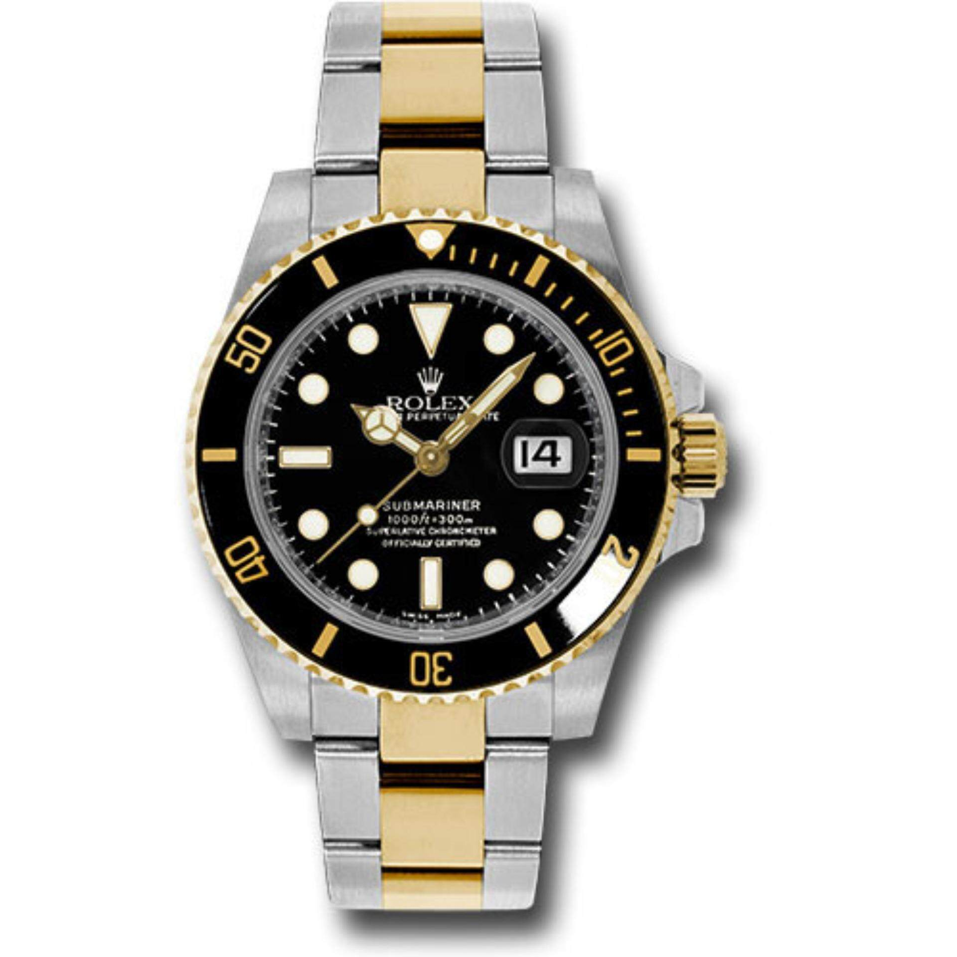 mariner watch steel swisswatchexpo gold diamond serti sub dial mens sapphire f submariner watches rolex