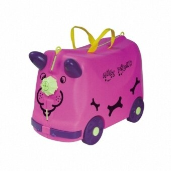 Harga Roll & Play Mini Trunk Kid's Toys Luggage/Storage Box (Purple)