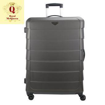 Harga Royal McQueen Double Wheels Spinner 28 inch Hard Case Luggage - QTH 6909 BROWN