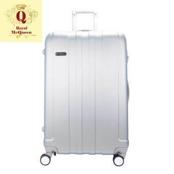 Harga Royal McQueen Hard Case Extra Light 8 Wheels 28 Luggage - QTH 6911 - SILVER""