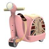SAGE Ride On Scooter Suitcase and Luggage Bag (Pink)