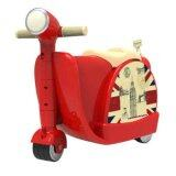 SAGE Ride On Scooter Suitcase and Luggage Bag (Red)