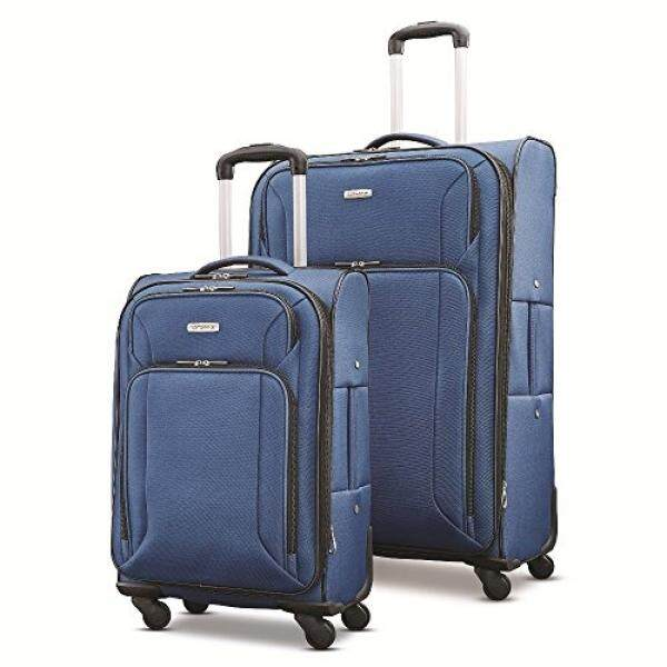 Samsonite Victory 2 Piece Nested Softside Set , Navy Blue, Only at Amazon - intl
