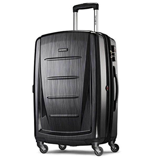 Samsonite Winfield 2 Hardside 28 Luggage, Brushed Anthracite - intl