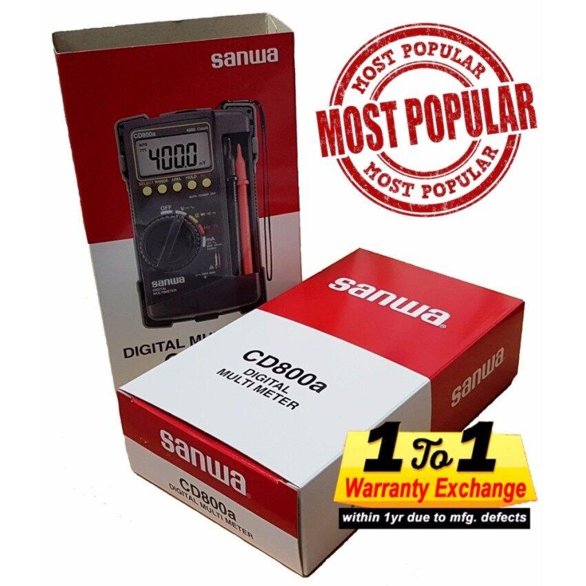 SANWA Digital Multimeter CD800A - intl