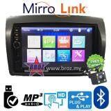 "Broz Satria Neo Plug And Play OEM 7"" Mirror Link BT USB MP5 Player +Free Camera"