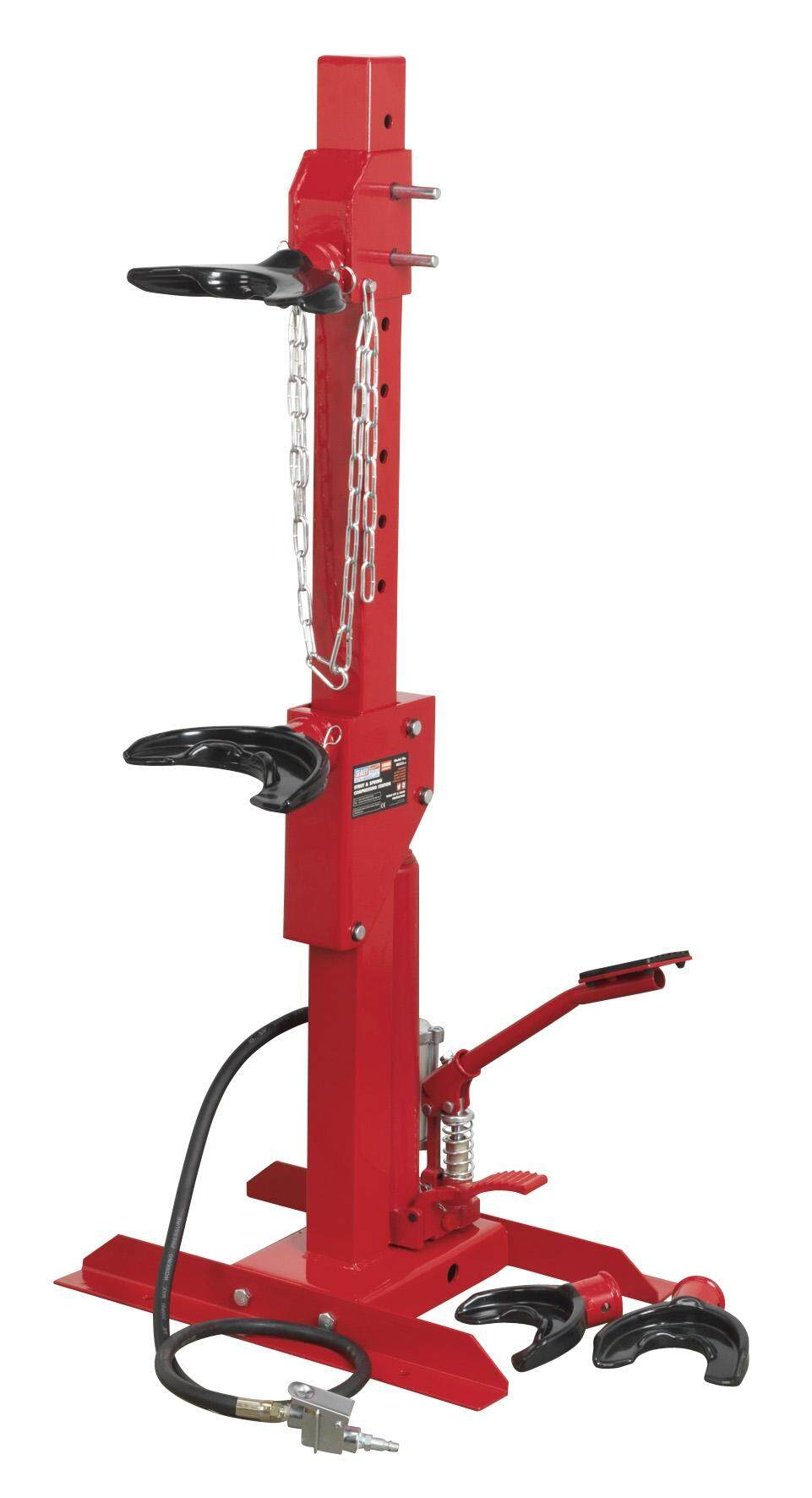 Sealey Coil Spring Compressing Station - Air/Hydraulic 1500kg Capacity