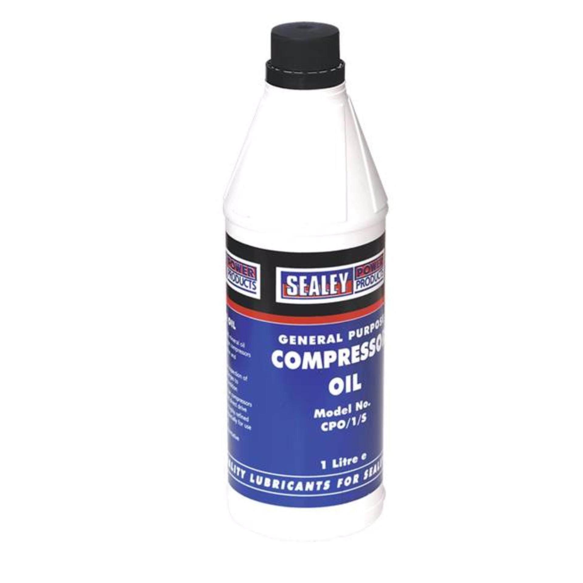 Sealey Compressor Oil 1LTR