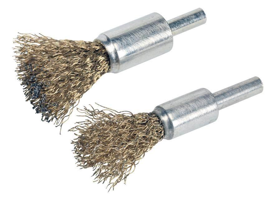 Sealey Decarbonizing Brush Set 2Pc