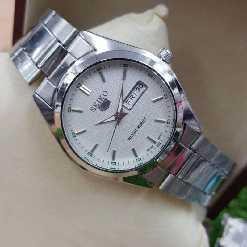 Seiko Watch 5 Automatic Silver Malaysia