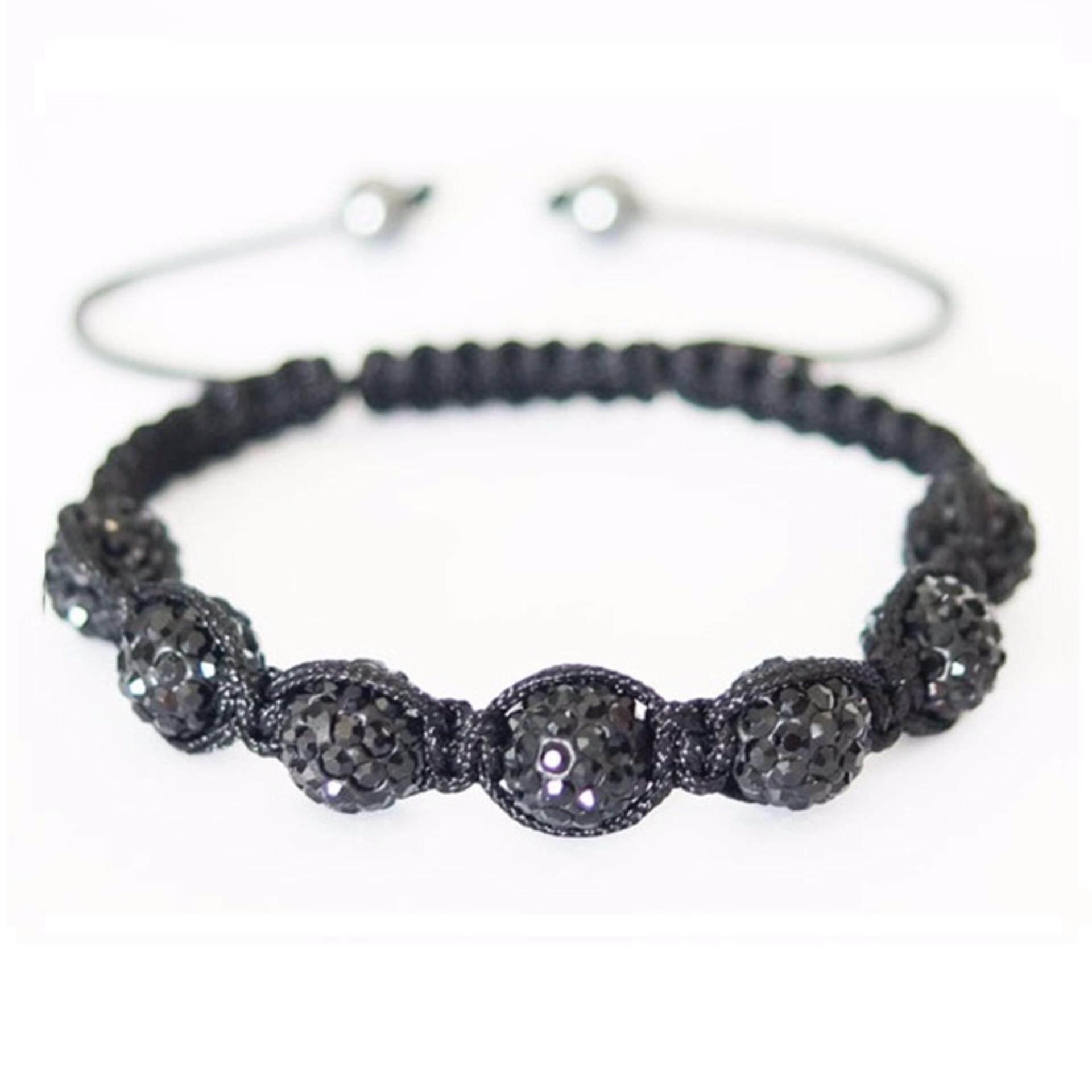 Shamballa Bracelet (Black)