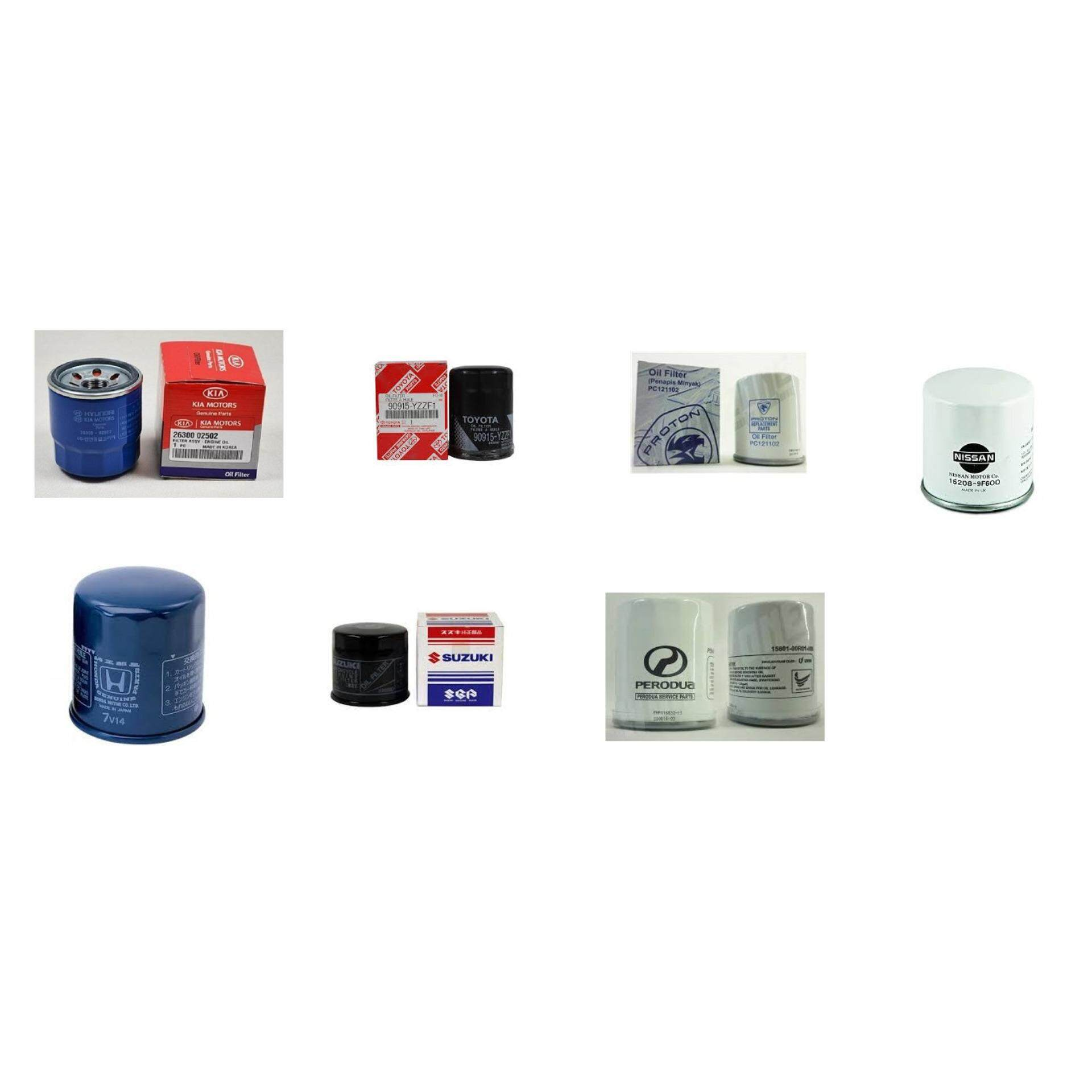 Shenzo Racing Oil 15W40 High-RPM 100% Synthetic (4L) Value Pack Original Oil Filter