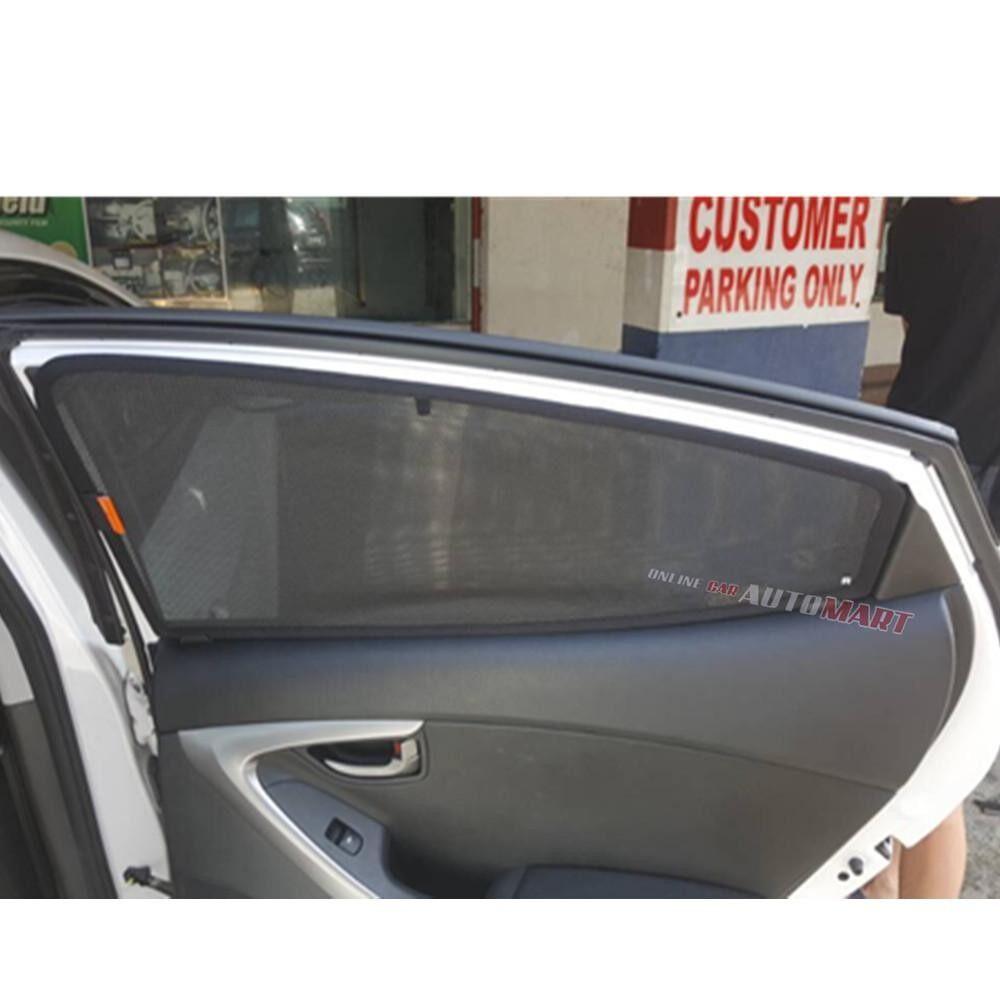 Simart Shade Magnetic Custom Fit OEM Sunshade For Hyundai Getz Yr 2002-2011 4pcs (Made In Malaysia)