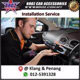 Broz Single Din Player Installation Service in Penang and Klang Area