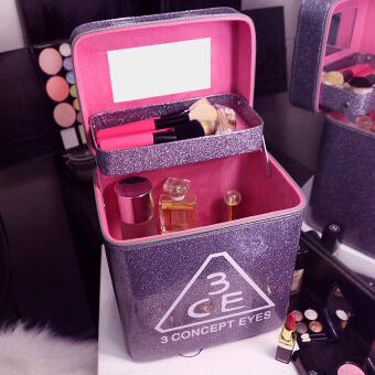 Harga Skin Care Products Double hard the Korean-style portableprofessional beauty case