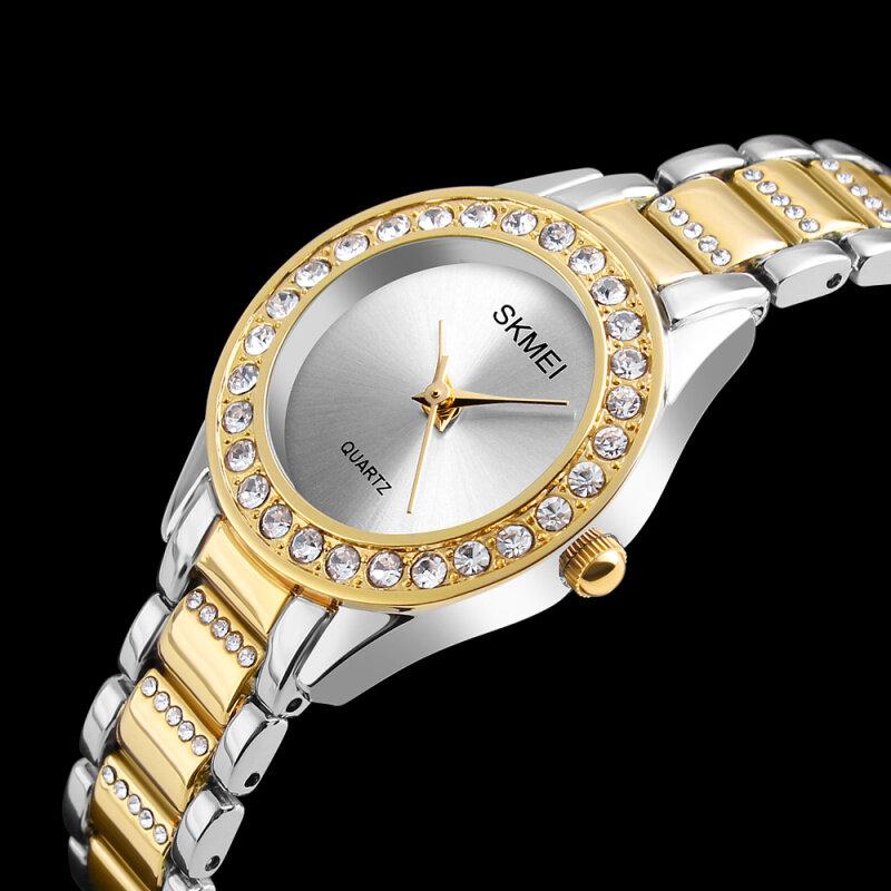 SKMEI Brand Women Quartz Watch Ladies Fashion Dress Wristwatches Top Luxury Jewelry Female Watches Clock Relogio Feminino 1262 Malaysia