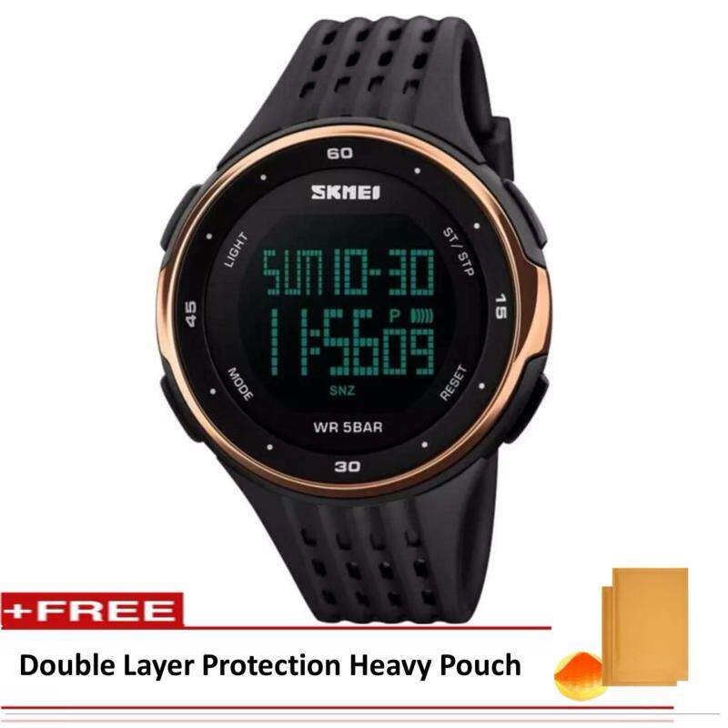 SKMEI LED Digital ]Military Men Sports Fashion Watches 5ATM Swim Climbing Outdoor Casual Wristwatches Malaysia