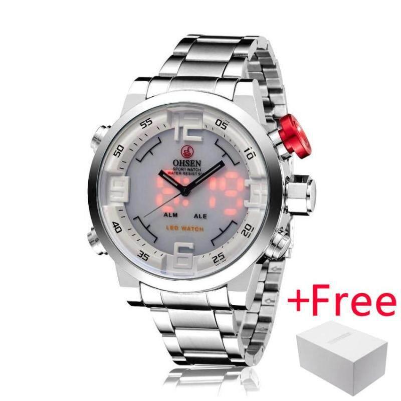 SKMEI Russian Talking Time Digital WristWatch Jam Tangan es Men Electronic LED Sports Watch Jam Tangan es Alarm Clock Military Fashion Casual Watch Jam Tangan  1162 Malaysia