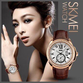 SKMEI Watch 1147 Women's Watches Vintage Roman Casual Watch Fashion Waterproof Quartz Analog Women's Wristwatches