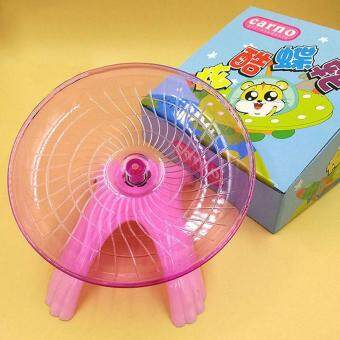 Harga Small Animal Hamster Exercise Flying Saucer Wheel Mice Running Play Toy