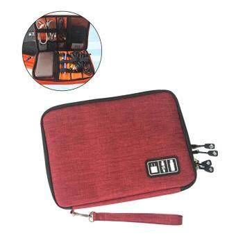 Elektronik Kecil Aksesoris Organizer Kabel Earphone USB Flash Drive Digital Kantong Penyimpanan Data Tas Case (