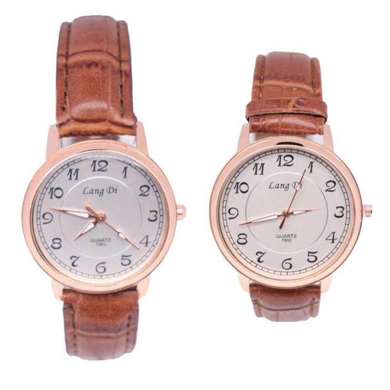 Smart Casual Classic Couple Set Watch 2pcs (LD7903LRG5B-0910) Malaysia