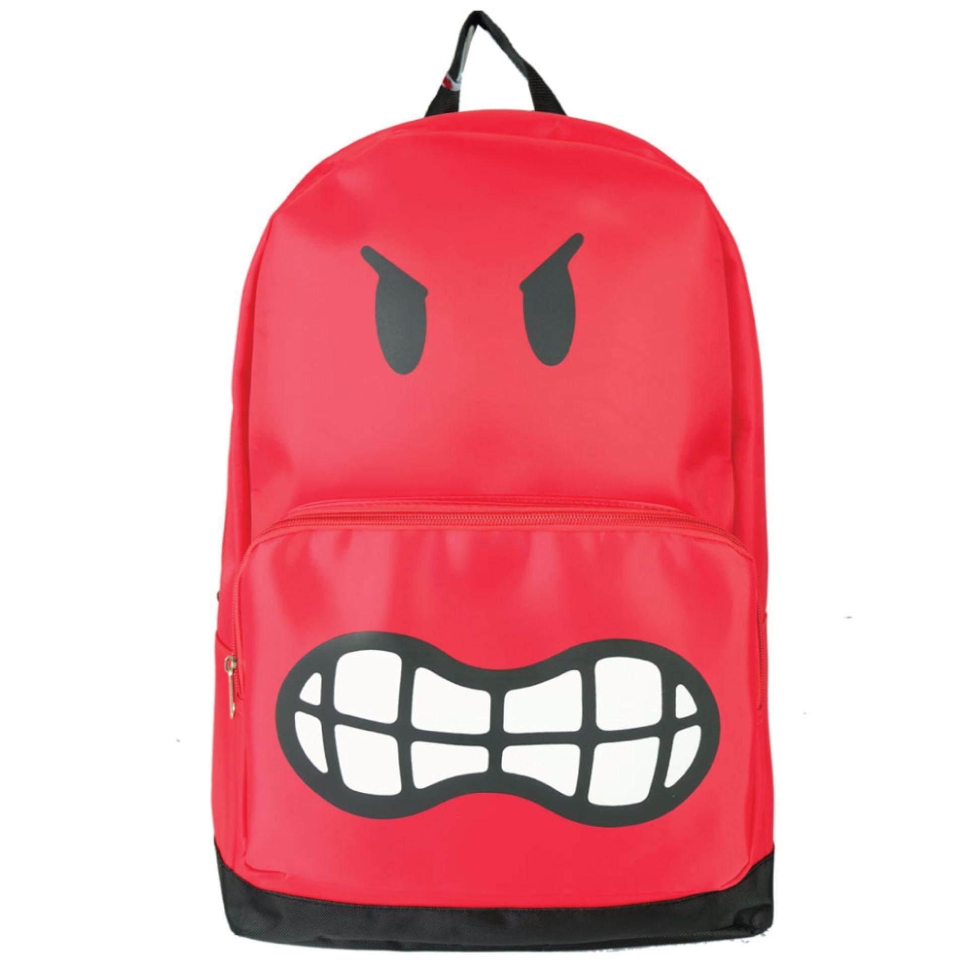 Polypac Produk Terbaru Tas Backpack Premium Old Steelseries Orange Smiley Ss1641 18 Inch Emojis
