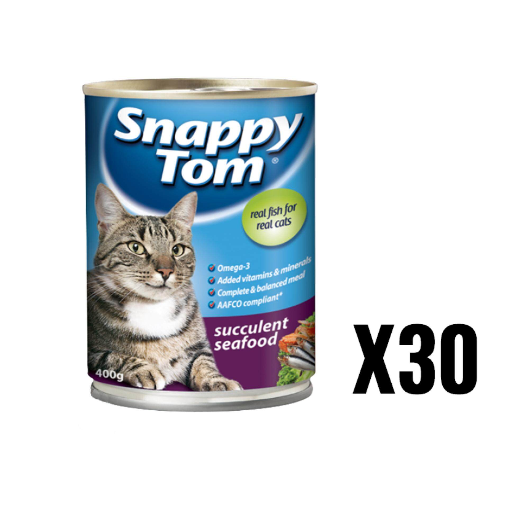 Snappy Tom Succulent Seafood 400G