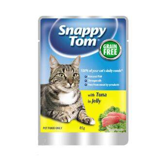 Harga Snappy Tom Tuna In Jelly 85G