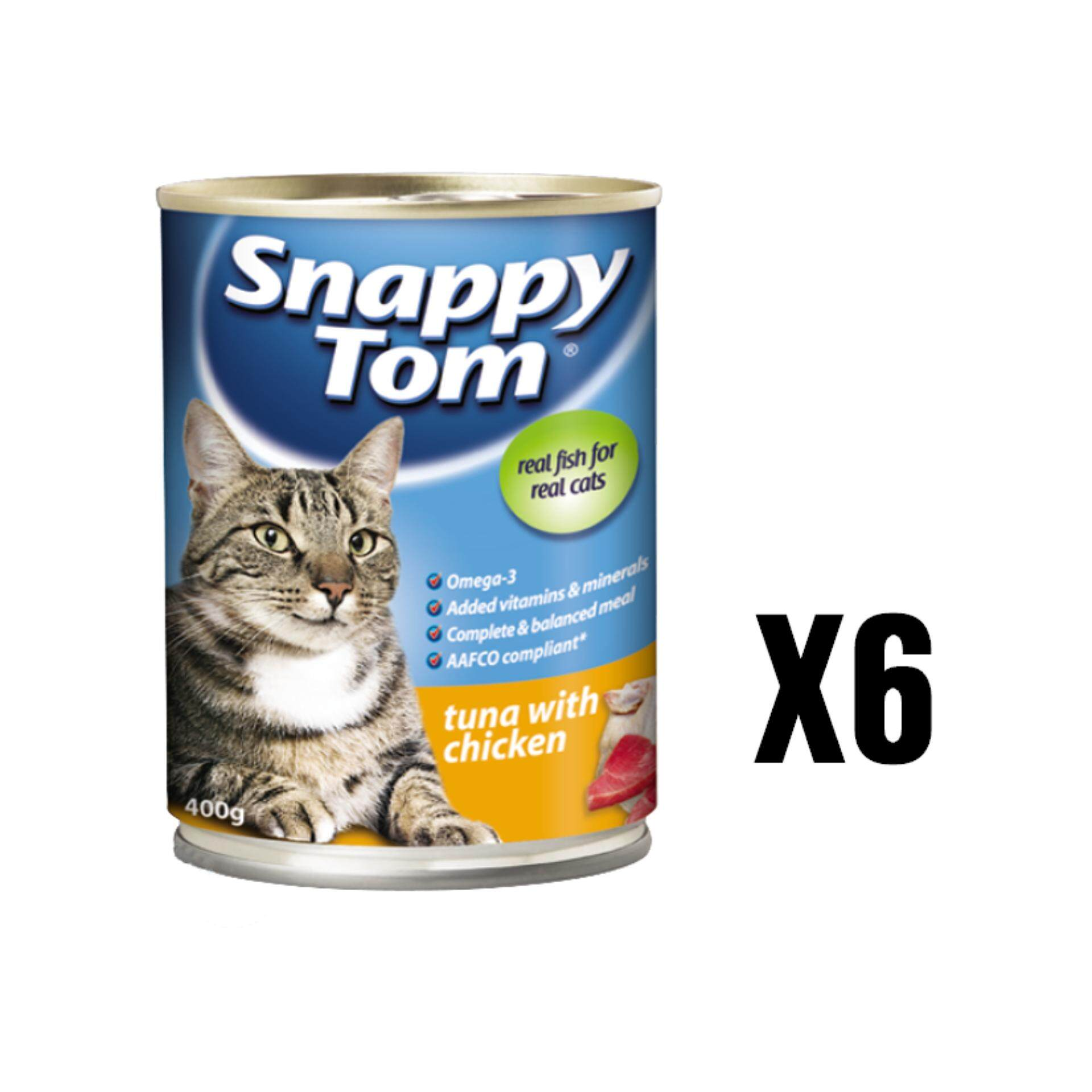 Snappy Tom Tuna With Chicken 400g