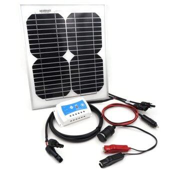 Solar Panel Power Car Battery Charger 10w Lazada Malaysia