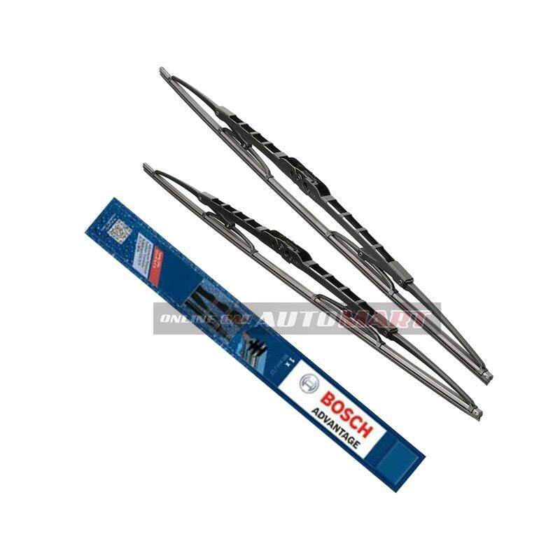 Ssangyong Musso - Bosch Advantage Wiper Blade (Set) - Compatible only with U-Hook Type - 18 inch & 18 inch