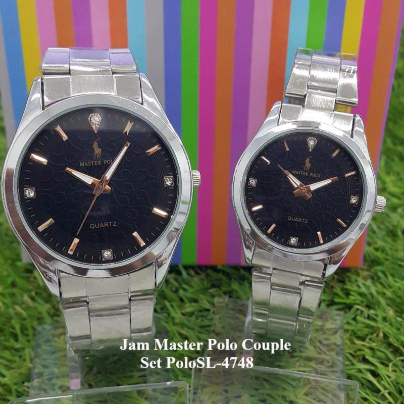 Stainless Steel Couple Watch GE POLOSL-4748 Malaysia