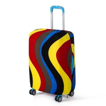 Stretchable Elastic Travel Luggage Suitcase Protective Cover- Strip Design