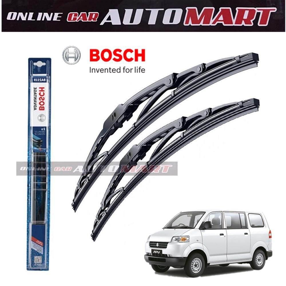 Suzuki APV - Bosch Advantage Wiper Blade (Set) - Compatible only with U-Hook Type - 18 inch & 18 inch