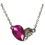 SwarovskiE= Element Heart Pink Necklace